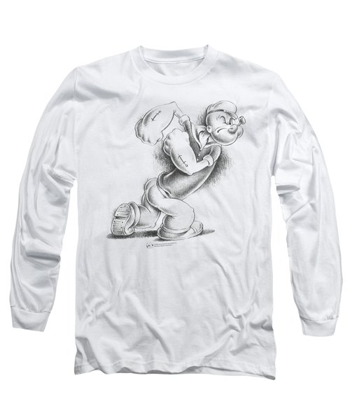 Popeye - Here Comes Trouble Long Sleeve T-Shirt