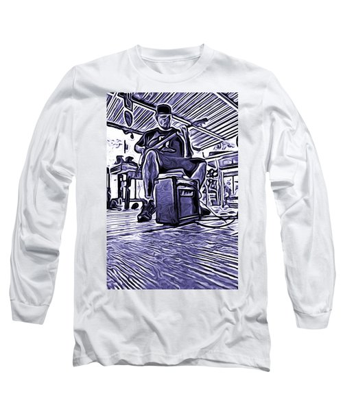Porch Pickin Long Sleeve T-Shirt