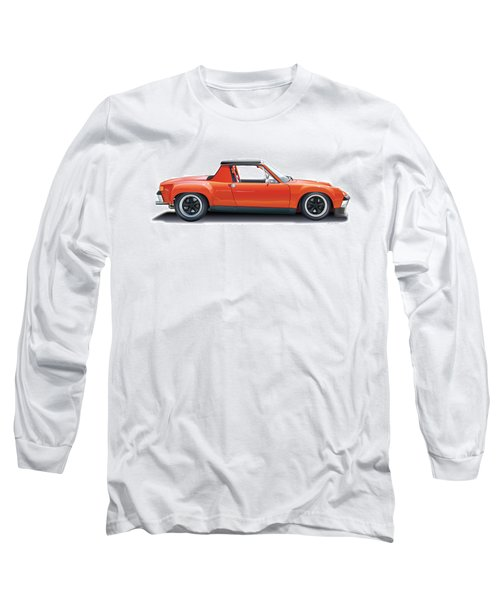Porsche 914-6 Gt Long Sleeve T-Shirt