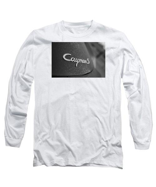 Standing Porsche Cayman S Long Sleeve T-Shirt