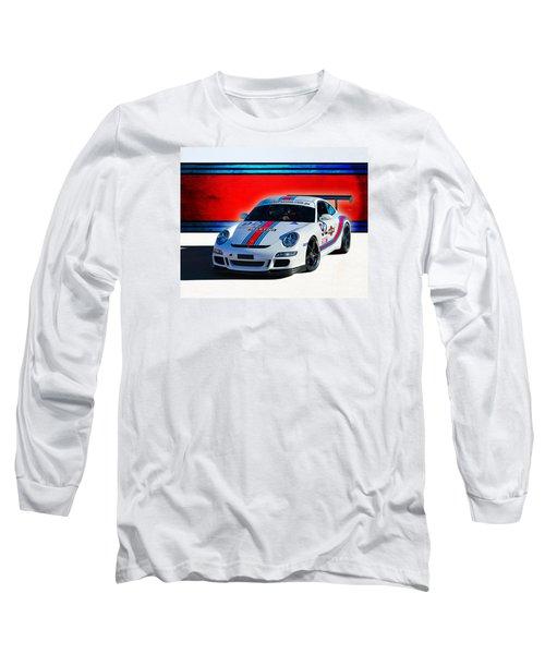 Porsche Gt3 Martini Long Sleeve T-Shirt