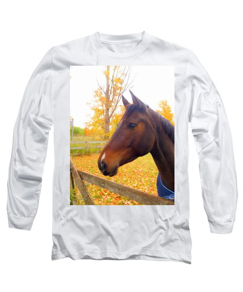 Portrait Of A Beauty Long Sleeve T-Shirt