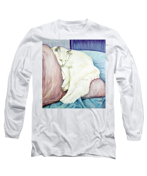Portrait Of Monroe Long Sleeve T-Shirt