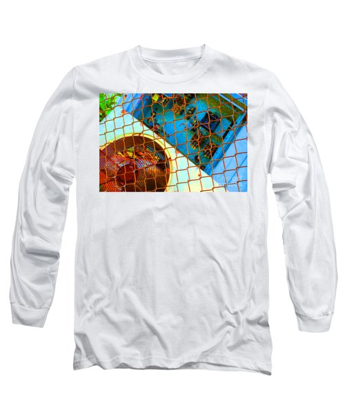 Long Sleeve T-Shirt featuring the photograph Power Failure by Christiane Hellner-OBrien