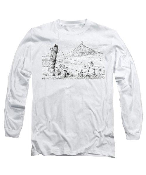 Prairie Rattler Long Sleeve T-Shirt