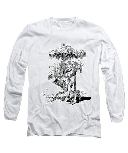 Ptactvo Long Sleeve T-Shirt