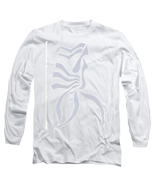 Long Sleeve T-Shirt featuring the digital art Pregnant Fog by Delin Colon