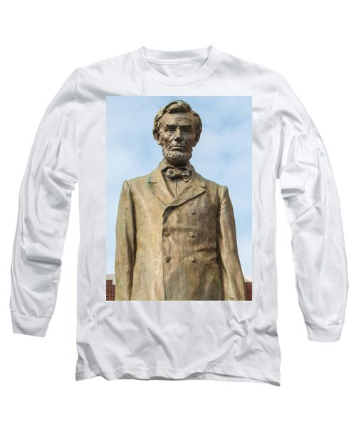 President Lincoln Statue Long Sleeve T-Shirt