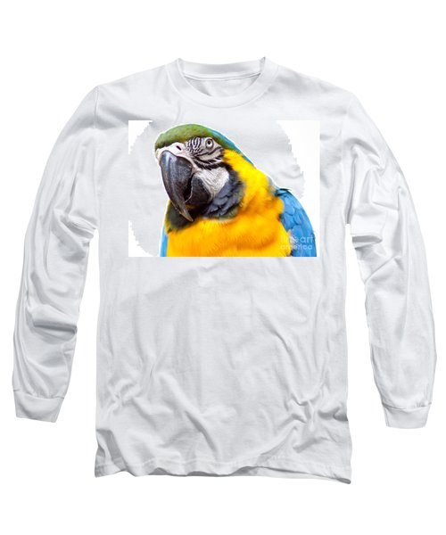 Long Sleeve T-Shirt featuring the photograph Pretty Bird by Roselynne Broussard