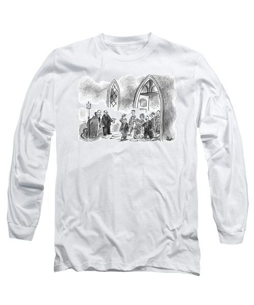 Priest, Talking To The Devil, Points Long Sleeve T-Shirt