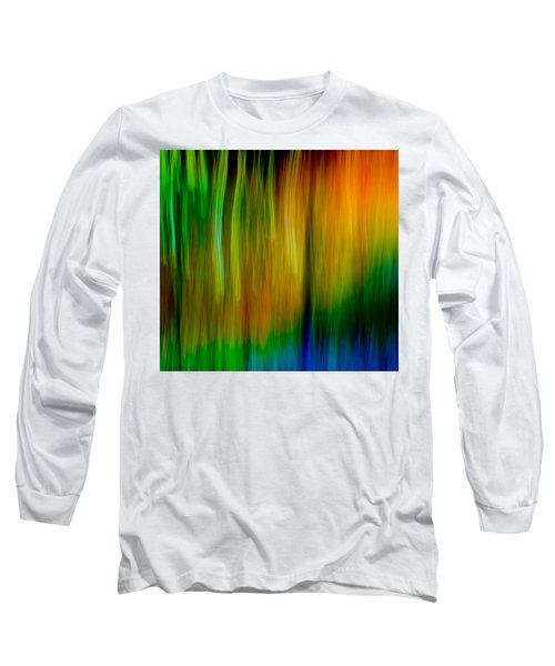 Long Sleeve T-Shirt featuring the photograph Primary Rainbow by Darryl Dalton
