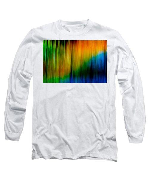 Primary Rainbow Long Sleeve T-Shirt