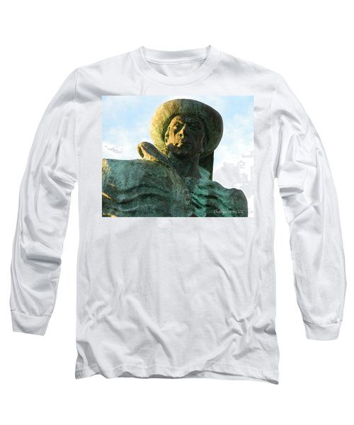 Long Sleeve T-Shirt featuring the photograph Prince Henry The Navigator by Kathy Barney