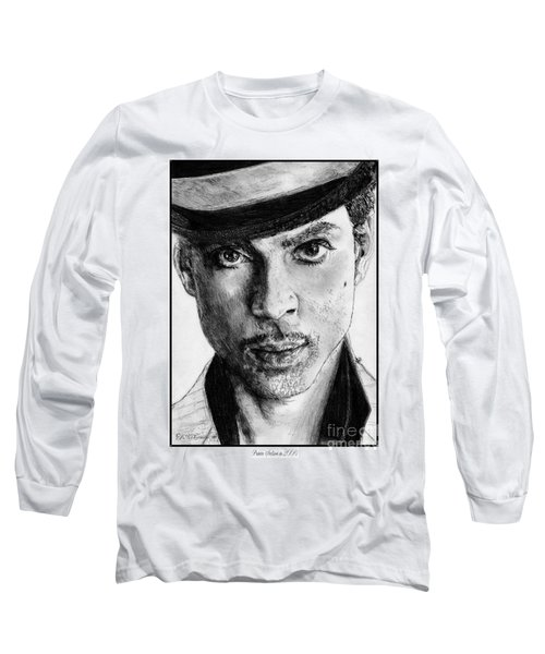 Prince Nelson In 2006 Long Sleeve T-Shirt