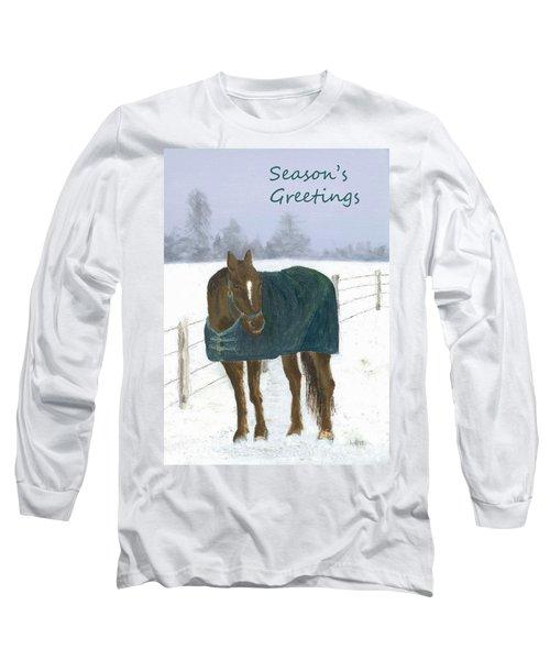 Prince Seasons Greetings Long Sleeve T-Shirt