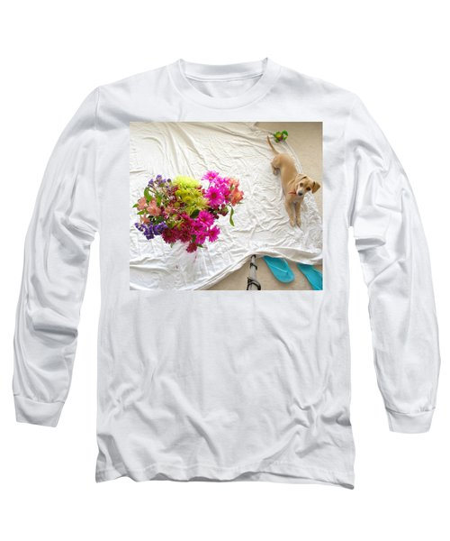 Long Sleeve T-Shirt featuring the photograph Princess On Assignment by Angela J Wright
