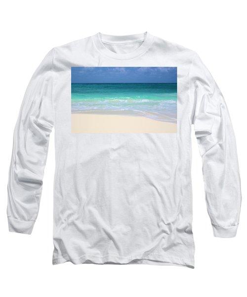 Pristine Beach Cancun Long Sleeve T-Shirt