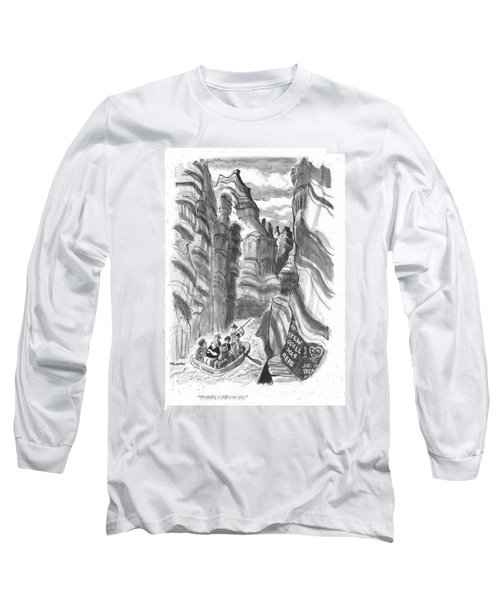 Probably A Different Guy Long Sleeve T-Shirt