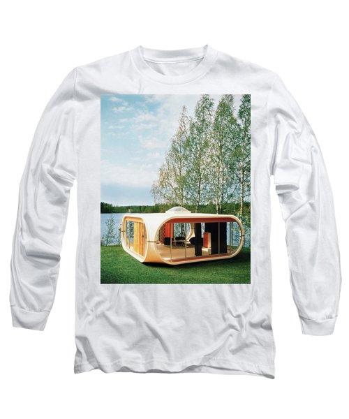 Prototype Of Polykem Molded House Long Sleeve T-Shirt