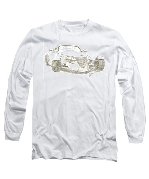 Prowler Sketch Long Sleeve T-Shirt by Chris Thomas