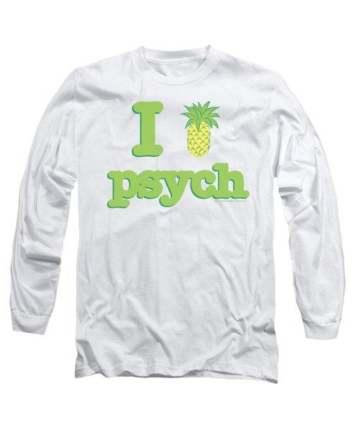 Psych - I Like Psych Long Sleeve T-Shirt
