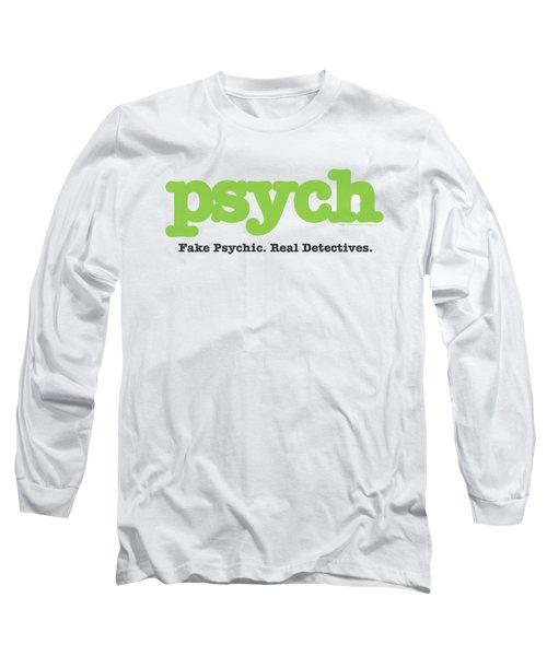 Psych - Title Long Sleeve T-Shirt