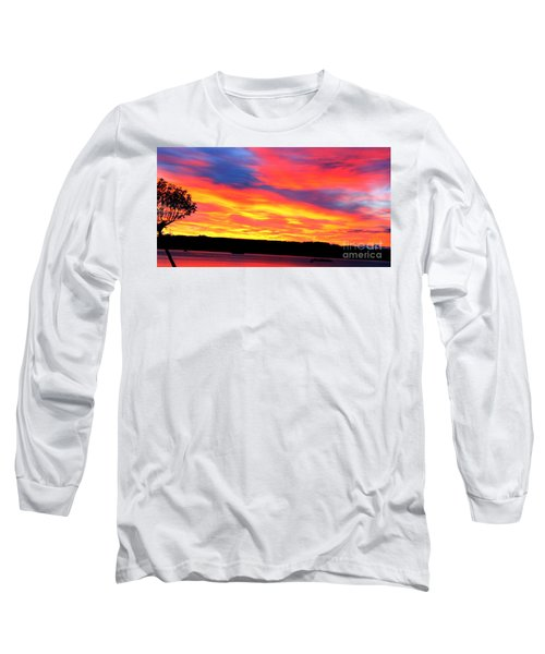 Puget Sound Colors Long Sleeve T-Shirt
