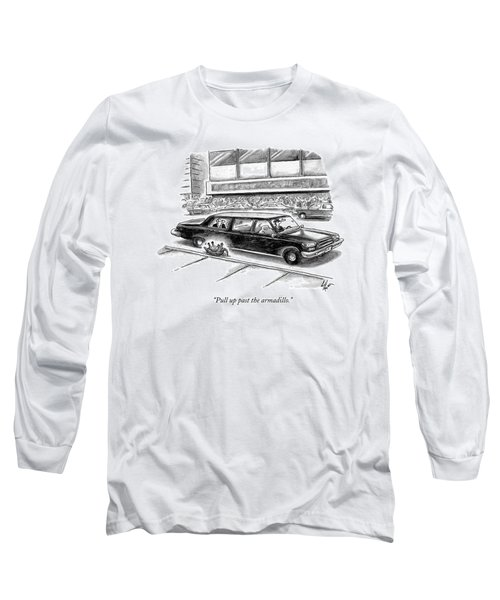 Pull Up Past The Armadillo Long Sleeve T-Shirt