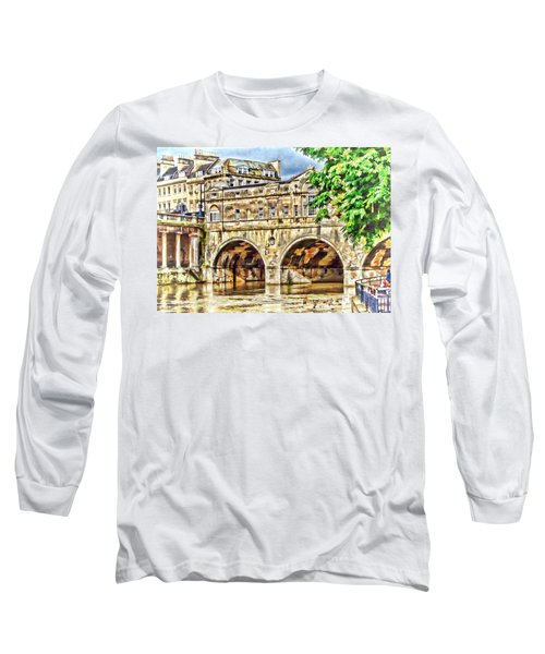 Pulteney Bridge Bath Long Sleeve T-Shirt