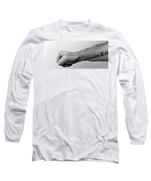 Punch A Wall Long Sleeve T-Shirt
