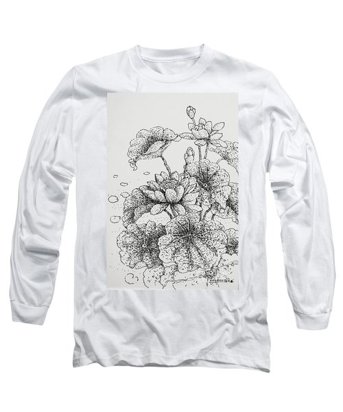 Purity And Beauty Long Sleeve T-Shirt