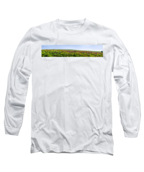 Purple Hills Long Sleeve T-Shirt