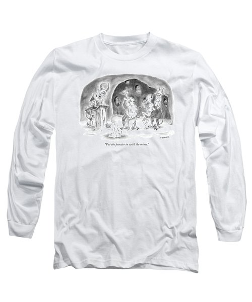 Put The Punster In With The Mime Long Sleeve T-Shirt