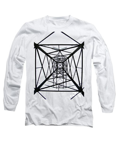 Long Sleeve T-Shirt featuring the photograph Pylon by Nina Ficur Feenan