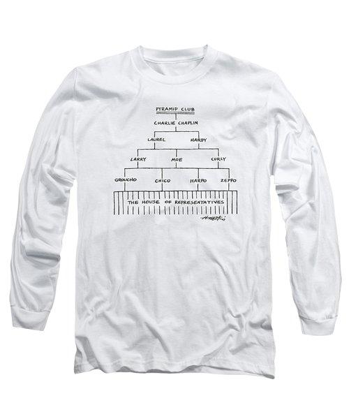 Pyramid Club Long Sleeve T-Shirt