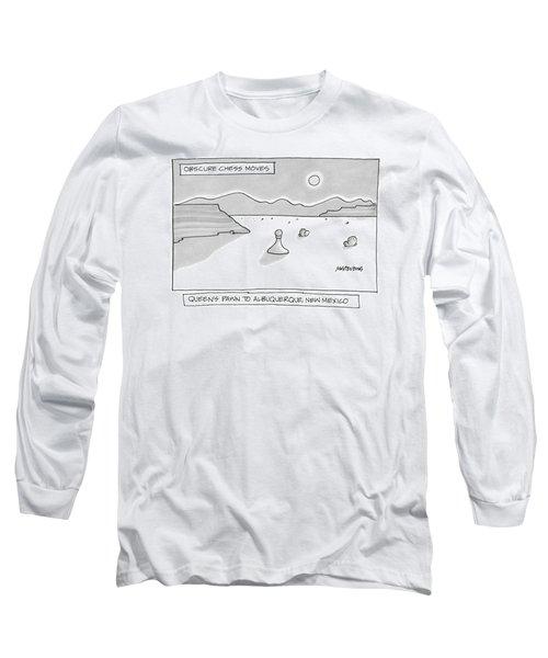 Queen's Pawn To Albuquerque Long Sleeve T-Shirt