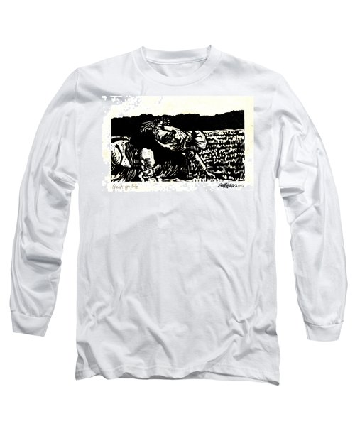 Long Sleeve T-Shirt featuring the relief Quest For Life by Seth Weaver