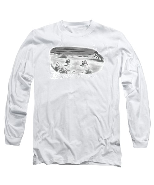 Quicksand Or Long Sleeve T-Shirt