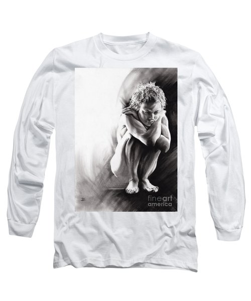 Quiescent II Long Sleeve T-Shirt by Paul Davenport