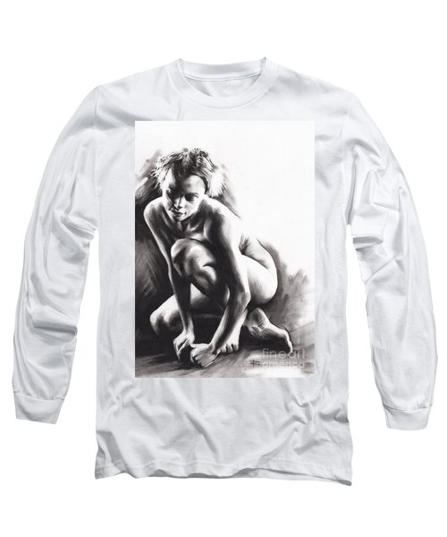 Quiescent  Long Sleeve T-Shirt by Paul Davenport