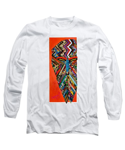 Quilted Warrior Long Sleeve T-Shirt
