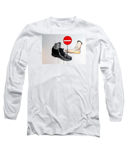 Long Sleeve T-Shirt featuring the painting Quo Vadis by Lazaro Hurtado