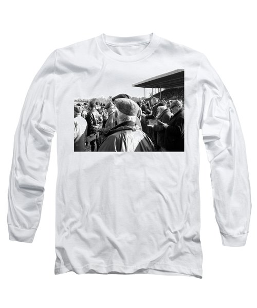 Long Sleeve T-Shirt featuring the photograph Race Day by Suzanne Oesterling