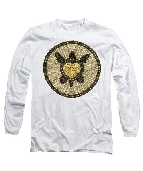 Golden Heart Long Sleeve T-Shirt