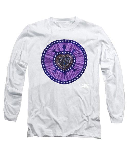 Purple Valentine 2011 Long Sleeve T-Shirt