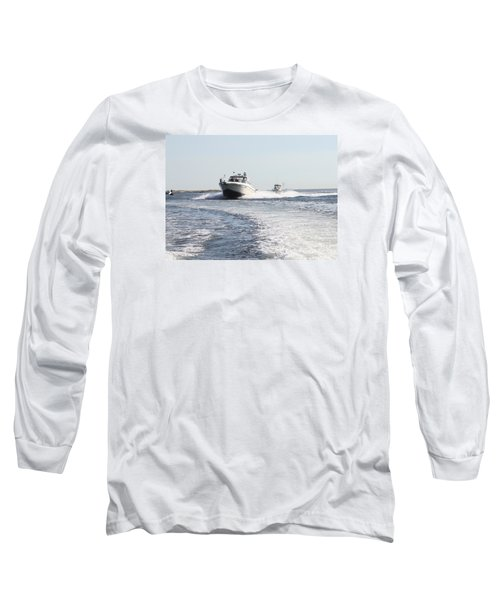 Racing To The Docks Long Sleeve T-Shirt