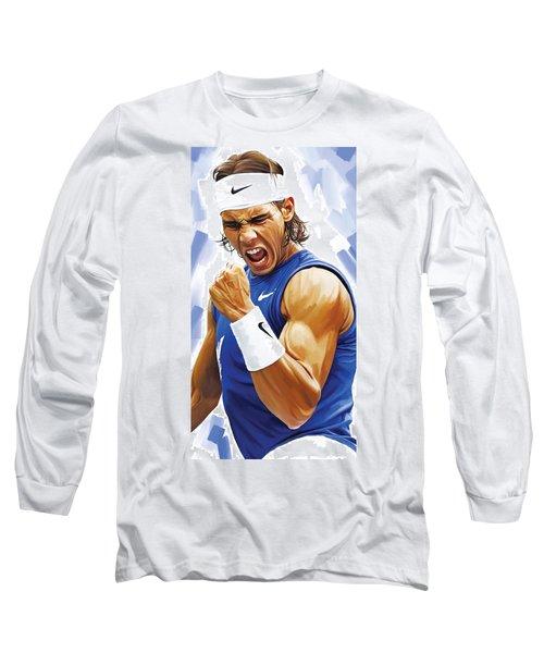 Rafael Nadal Artwork Long Sleeve T-Shirt