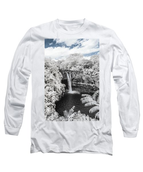 Rainbow Falls In Infrared 1 Long Sleeve T-Shirt