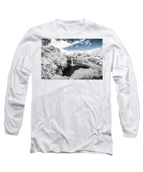 Rainbow Falls In Infrared 3 Long Sleeve T-Shirt