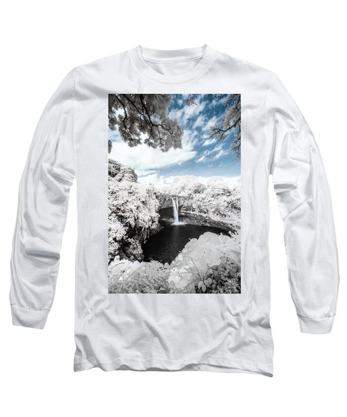 Rainbow Falls In Infrared 4 Long Sleeve T-Shirt